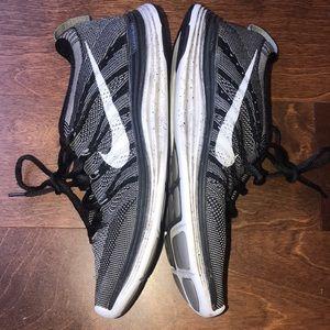 Nike Shoes - 🌈Nike sneakers black grey flyknit 🌈